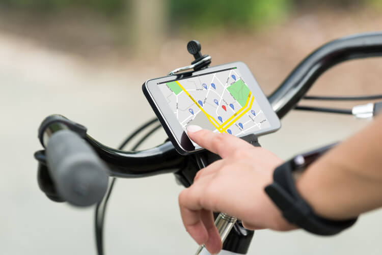 gps for bicycle