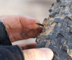 Puncture resistant bike tire