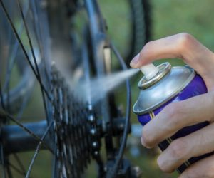 Using WD40 on Bicycle
