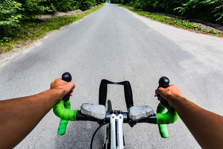 road cyclist handlebars