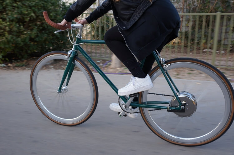 Single speed electric bike