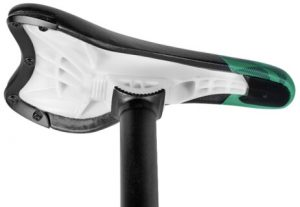 Pivotal bike saddle